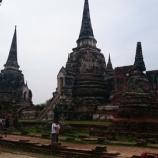 『3基の仏塔が象徴のアユタヤ王室守護寺院!ワット・プラシーサンペット』の画像