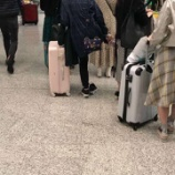 『【乃木坂46】香港の空港でずれた靴下を直す星野みなみが可愛すぎるwwwwww』の画像