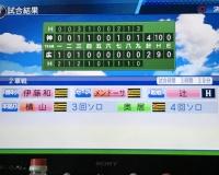 【パワプロ】阪神横山投手、ホームランを打つ