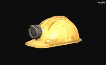採掘ヘルメット