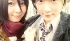 AKB48岩田華怜「生駒ちゃんと仲良くなりたい♪」