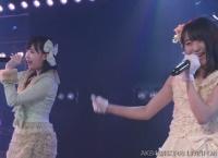 【同郷】北海道出身のHKT48運上弘菜が坂口渚沙と一緒に公演に出演!