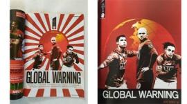 【サッカー】マンU公式雑誌に「旭日旗」、韓国版では別の写真を使用していると発狂wwwww