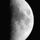 『月齢6.4の綺麗なお月さま』の画像