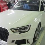 『【スタッフ日誌】Audi RS3SB(8V)に各種ランプ装着!』の画像