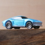 『バタット Driven プルバックカー WH1125Z 水色の車』の画像