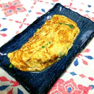 アスパラ菜のオムレツ