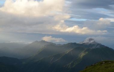 『北岳にお別れ☆いよいよ下山』の画像
