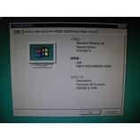 『Windows98seマシンの作製』の画像