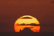 3年待って撮影に成功した「独島日の出」映像