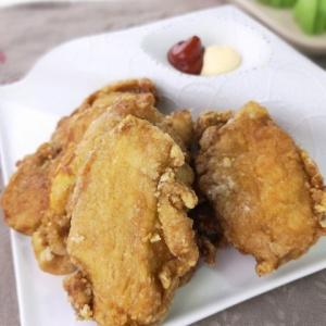 薄くても柔らか♪鶏むね肉のカレー唐揚