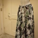 『irise(イリゼ)ブラッシュカモフラロングスカート』の画像