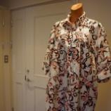 『ottod'Ame(オットダム)フラワープリントプルオーバーシャツ』の画像