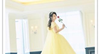 【芸能】実写版いける!? ダレノガレのベル風ドレス姿に大絶賛