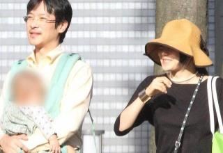 【芸能】菅野美穂長男がイケメンすぎると話題 公園で堺雅人より有名人