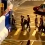【動画】香港デモ、デモ参加者に偽装した警官が任務後に警察署に戻ってくる瞬間! [海外]