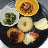 『太田下町昼食(夏野菜コロッケ)』の画像