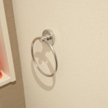 『【DIY】タオルリングをDIYで設置した話とタオル掛けの話』の画像