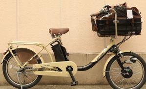 ペット用電動アシスト付自転車