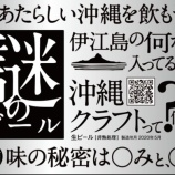 『【キャンペーン】「あたらしい沖縄を飲もう。」オリオンビールが謎のクラフトビールをサンプリング』の画像