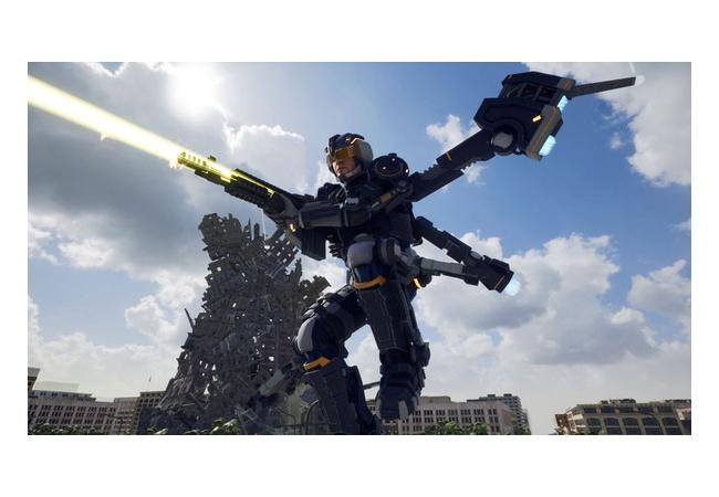 【EDFIR/地球防衛軍】ジェットリフターの慣性酷すぎ