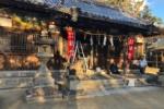 天田神社、初詣の準備着々と進んでるみたい!〜しめ縄が新しくなったりしてる〜