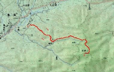 『また春の山です^^/ 玉峰山820m April 6,2020』の画像