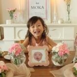 『お姫様になりたい娘の誕生日』の画像