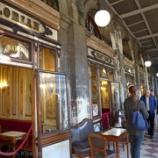 『イタリア ヴェネツィア旅行記22 カフェ・フローリアンで楽団の演奏を聴きながらカフェオレを飲む』の画像