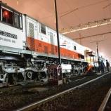 『K3-76~84系 8両、Purwakartaへ再び廃車回送される(7月19日)』の画像