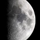 『上弦の月(5月26日)』の画像