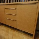 『【2012年9月2日まで飛騨の家具 先行予約会】日進木工のNATURAL BROWNシリーズのサイドボード・NBL-494』の画像