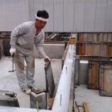 『八尾市K邸基礎立ち上げ型枠撤去』の画像