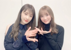 美しい・・・高山一実&田村真佑、美人姉妹みたいな2ショット画像!