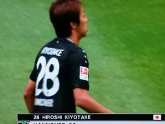 【速報動画】ハノーファー清武、先制ゴール!今季5点目!