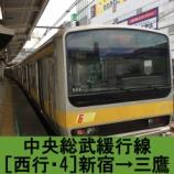 『中央総武線 各駅停車 車窓[西行・4]新宿→三鷹』の画像