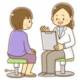 『【クリップアート】医療のイラスト(問診・診察を受ける女性)』の画像