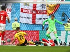 【 ベルギー vs イングランド 】前半終了!ムニエが先制ゴール!ベルギーが1-0でリード!
