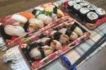イズミヤ交野店の『パック寿司』が特売で超お得!~鮮魚店売り場のお寿司コーナー~
