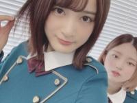 【欅坂46】織田奈那の後ろの鈴本wwww