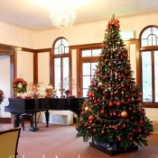 『【Salon de Angela様】藤田記記念庭園洋館にてミニクリスマス展が開催中です』の画像