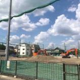『戸田第一小学校の建て替え工事が始まると使用が制限される運動場の代替場所となる新東洋ロール跡地の整備が始まっています。』の画像
