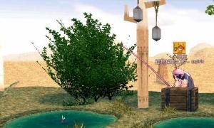 77万のトルディジャグドミニスカートも釣れる砂漠の池