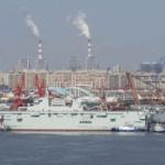 【動画】中国、3隻目の強襲揚陸艦「075型」が進水!台湾侵攻視野に急速整備