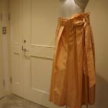 『ottod'Ame(オットダム)タックフレアスカート』の画像