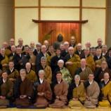 『悟りの体現者・井上貫道老師が北米オリンピア禅会でZOOM提唱』の画像