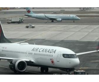 エア・カナダの女性客、目覚めたら真っ暗 寒い機内に深夜まで放置
