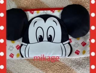 ミッキーの可愛いマスクケースだよ♪