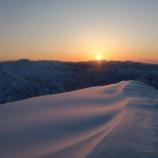 『谷川岳西黒尾根~茂倉新道縦走―残雪に埋もれた避難小屋を求めて―』の画像