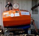71歳の男性、たる形カプセルで海流のみによる大西洋横断に出発 シャチの襲撃に備えるため補強、窓アリ